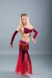 Attractive girl dances east dance Stock Photo