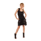 Attractive Girl In Fashion Dress Royalty Free Stock Image