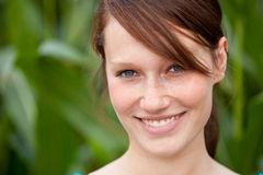 Attractive girl outside Royalty Free Stock Images