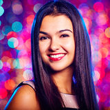 Attractive girl royalty free stock image