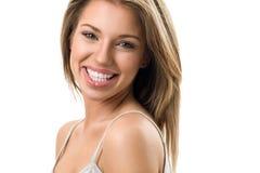 attractive girl smiling Στοκ φωτογραφία με δικαίωμα ελεύθερης χρήσης