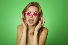 Attractive Girl star Stock Photo