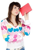 Attractive girl student Royalty Free Stock Photography