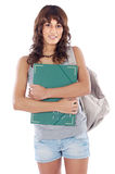 Attractive girl student Royalty Free Stock Photo