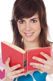 Attractive girl student Stock Photos