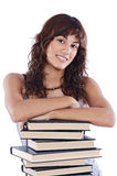 Attractive girl student Stock Photography