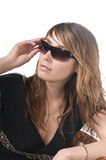 Attractive girl in sunglasses Royalty Free Stock Image