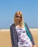 Attractive girl in sunglasses Stock Photos