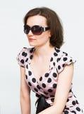 Attractive girl in sunglasses Stock Image