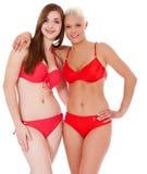 Attractive girls in bikini Stock Photo