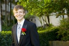 Attractive groom Royalty Free Stock Photos