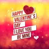 Attractive Happy Valentines Day Concept Stock Photos
