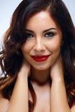 Attractive happy woman Stock Photo