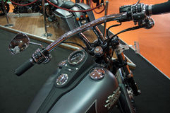 Attractive Harley Davidson 103 cruiser motorcycle Royalty Free Stock Image