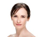 Attractive Healthy Woman Headshot Stock Photo