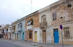 Malta, Marsaxlokk: Scenic village houses Stock Photo