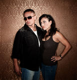 Attractive Hispanic Couple Royalty Free Stock Images