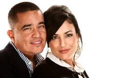 Attractive Hispanic Couple Stock Photo
