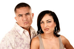 Attractive Hispanic Couple Stock Image