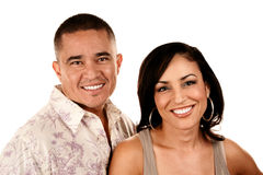 Attractive Hispanic Couple Royalty Free Stock Photography