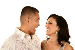 Attractive Hispanic Couple Royalty Free Stock Image