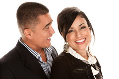 Attractive Hispanic Couple Stock Photos