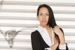 Attractive hispanic woman Royalty Free Stock Photo