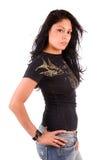 Attractive Hispanic woman. Royalty Free Stock Image