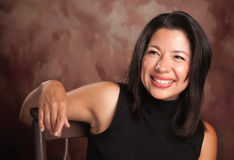Attractive Hispanic Woman Portrait Royalty Free Stock Photography
