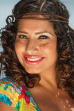 An attractive hispanic woman Stock Photography