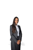 Attractive Indian businesswoman in a formal pose Stock Photo
