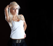 Attractive lady Royalty Free Stock Photography