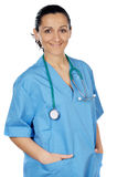 Attractive lady doctor Stock Photos