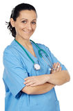 Attractive lady doctor Stock Photo