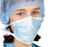 Attractive Lady Doctor royalty free stock photos