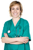 Attractive Lady Doctor Royalty Free Stock Image