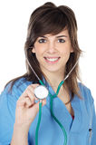 Attractive lady doctor Royalty Free Stock Photography