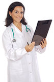 Attractive lady doctor Royalty Free Stock Images