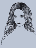 attractive lady portrait young Στοκ φωτογραφίες με δικαίωμα ελεύθερης χρήσης