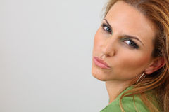 Attractive lady posing Stock Image