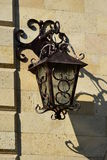 Attractive lantern on the wall Stock Photo