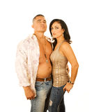 Attractive Latino Couple Stock Images