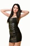Attractive Latino woman. Woman studio portrait of beautiful latino woman Stock Photos