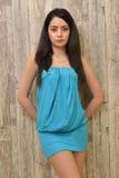 Attractive Latino woman. Woman studio portrait of beautiful latino woman Stock Image