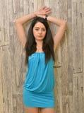 Attractive Latino woman Stock Image