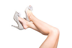 Attractive legs Stock Photography
