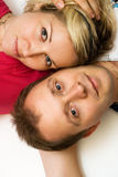 Attractive loving couple Royalty Free Stock Photos