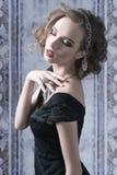 Attractive luxury women stock image