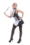 Attractive maid Royalty Free Stock Photography