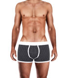 Attractive male body in fashion underwear Royalty Free Stock Photo